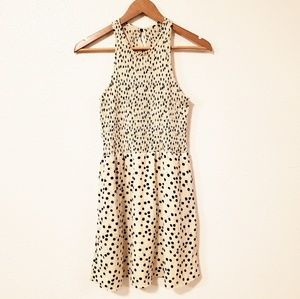 Dolce Vita Polka Dot Fit and Flare Sleeveless Dres